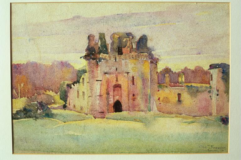 Caerlaverlock Castle, Dumfriesshire