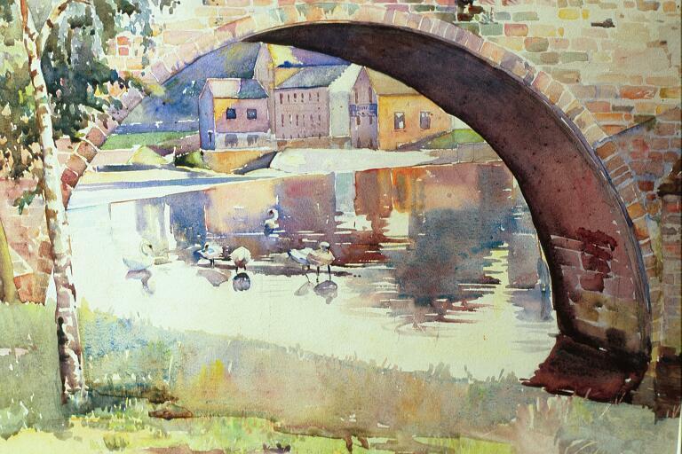 The Cauld at Devorgilla's Bridge (The Nith, Dumfriesshire)